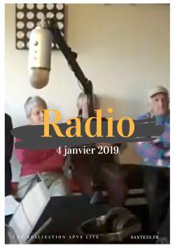Affiche radio 4 janvier 2019